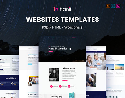 Website Template | PSD | HTML | WordPress