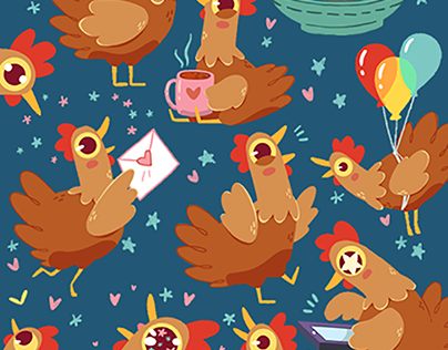 Chickadoodles Stickers