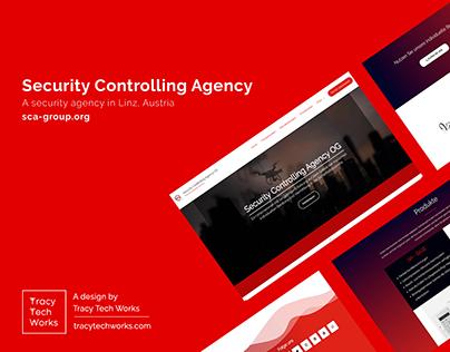 Security Controlling Agency - Website Design