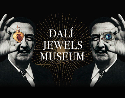 Dali Jewels Museum. Website concept