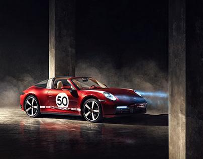 Porsche 911 Targa 4S: Heritage Design Edition 2021