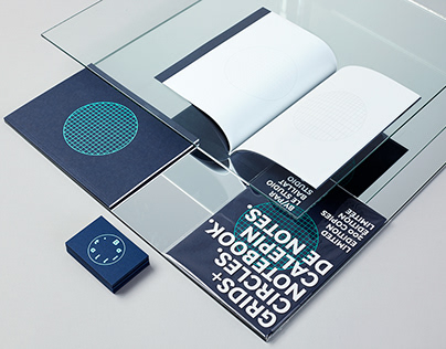 Baillat. Studio Identity and notebook