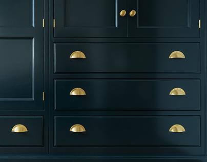 Navy blue [sexy] wardrobe