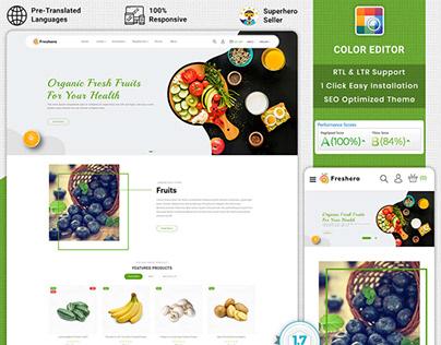 Freshero - The Best Organic PrestaShop Theme
