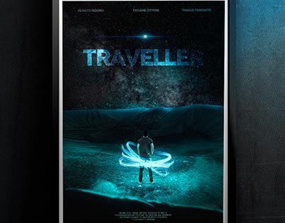 Poster Traveller - Fictício