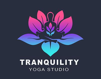 Tranquility Yoga Studio - Logo Design
