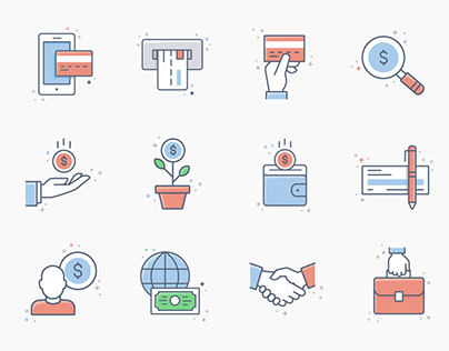 Free* 20 Business & Finance icons