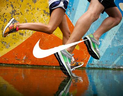 NIKE Running 2011 Website