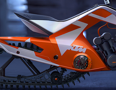 KTM X2 HYBRID, SNOWMOBILE + ATV