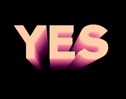 """Series of posters """"NO"""", """"YES"""", """"CAN"""""""