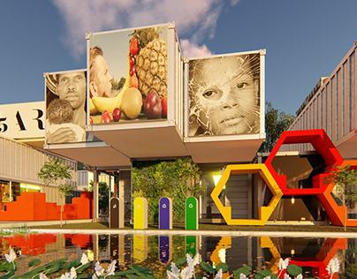 JENGA PARK - Architectural Design