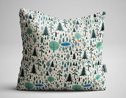 "Bed Linen ""Little Forest"""