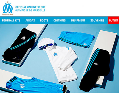 Olympic Marseille Email Campaign
