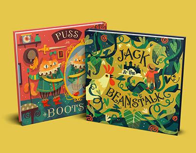 Folktale Book Covers