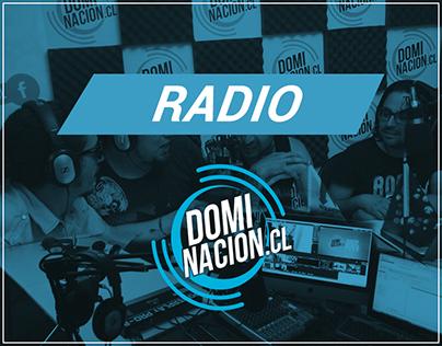 RADIO DOMINACIÓN || Flyer y Brochure