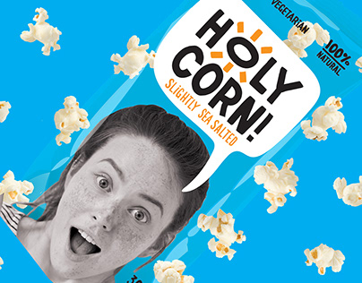 HOLY CORN! Emotional popcorn.