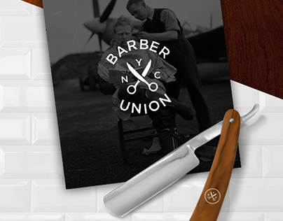 Barber X Union Branding