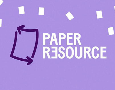 Brand Identity Design for Paper Resource