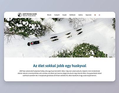 Saint Michael Island Siberian Husky Kennel – webdesign