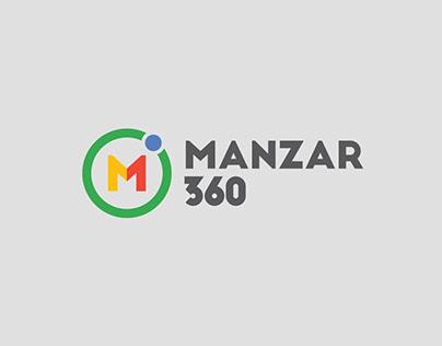 Logo Design: Manzar 360
