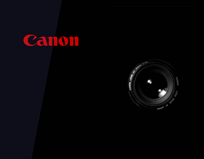 Canon Official Redesign