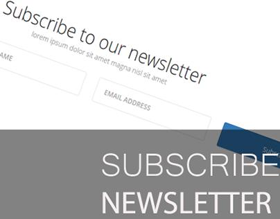 Newsletter Form | Web Component