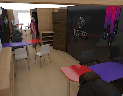 Diseño Interior Oficinas KROM Publicidad
