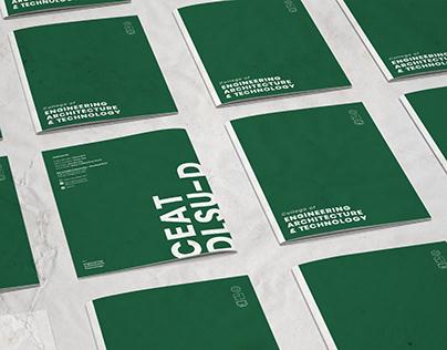 CEAT DLSU-D / Collateral Branding