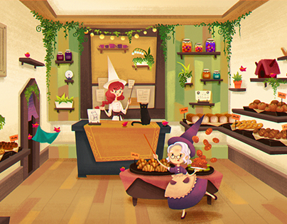 Witch's Bakery : Bakery Opens!
