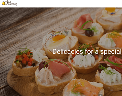 Od Catering Web Site Design