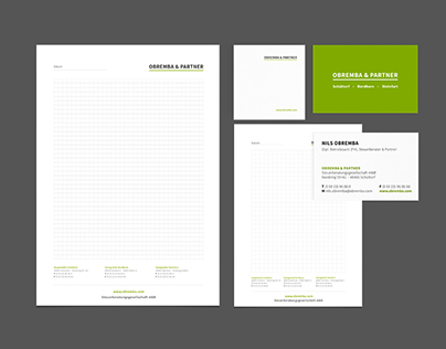 OBREMBA & PARTNER – Corporate Design