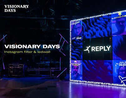 Visionary Days - IG Filter & ledwall