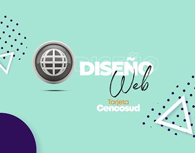 Diseño web Tarjeta Cencosud