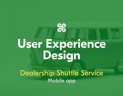 UX design for a Shuttle Service