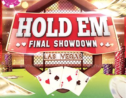 Texas Hold Em - Poker Flyer Template