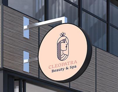 Cleopatra beauty logo