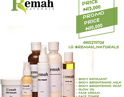 Remah Naturals Sticker