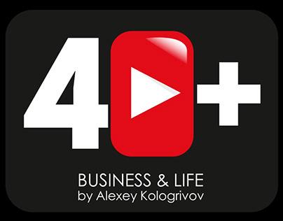 Логотип и оформление Ютуб-канала о криптовалюте