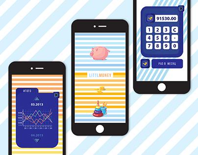 LittlMoney. App for kids to control their finances