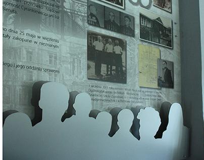 graphic design - board about Polish War Hero