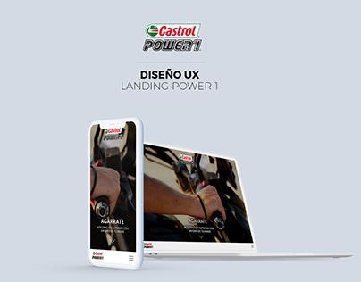 Castrol Power 1 - UX Landing