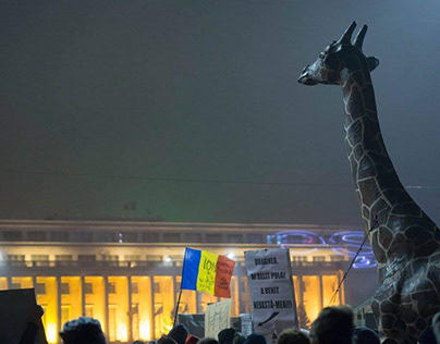 Protests in Bucharest