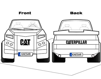 Caterpillar - Pickup Car