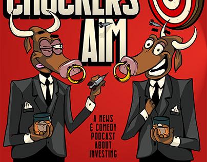 Podcast Logo: The Chucker's Aim
