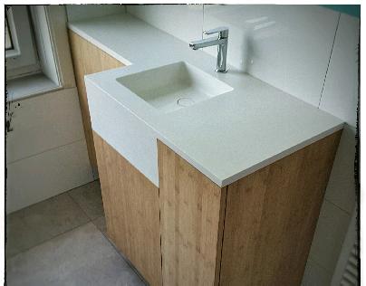 bathroom piece for Jolande & Mirjam
