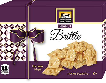 Peanut Brittle Gift Box