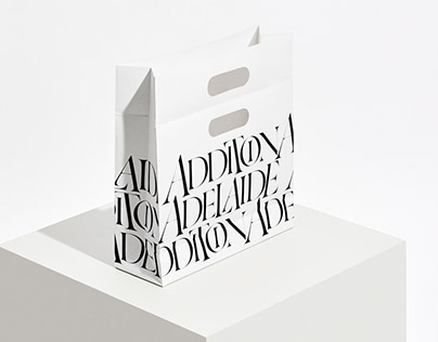 Addition Adelaide Tokyo – Logo and Shopping Bags