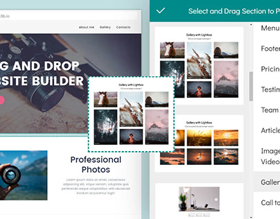 8b Drag and Drop Website Builder Review