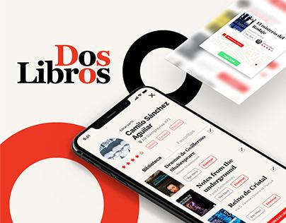 UX/UI Dos Libros APP
