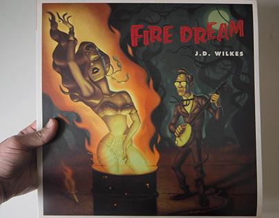 """Fire Dream"" Album Cover"